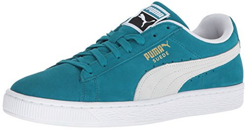 PUMA Suede Classic Sneaker, Ocean Depths White, 9.5 M US