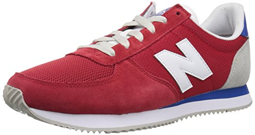 New Balance Men's 220v1 Sneaker, Team Red/Artic Fox, 13 D US