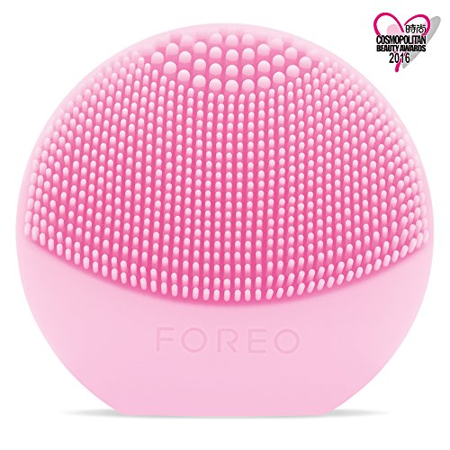 FOREO LUNA play – All the Power of T-SONIC Cleansing in 1 Small Device, Pearl Pink