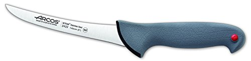 Arcos 5 1/2-Inch 140 mm Colour-Prof Curved Boning Knife