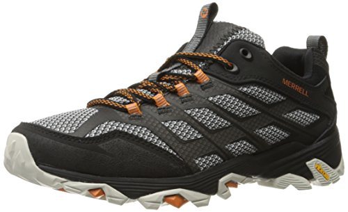Merrell Men's Moab FST Hiking Shoe, Black, 11 M US