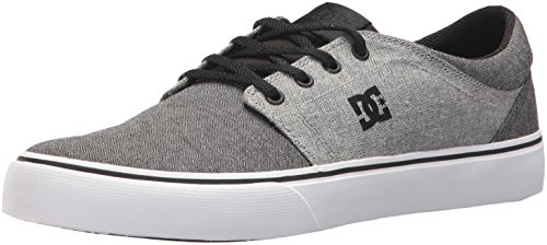 DC Men's Trase TX SE Skate Shoe, Black/Battleship/Black, 9 D US