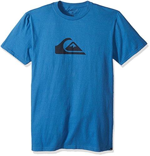 Quiksilver Men's Comp Logo Tee, Bright Cobalt, XXL