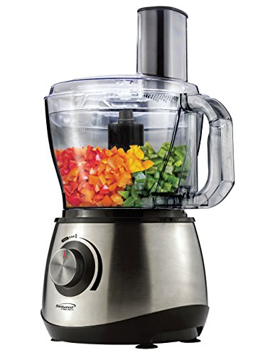 Brentwood Select Cup Food Processor, Stainless Steel
