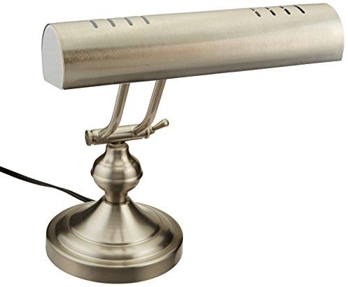 Boston Harbor Piano Desk Lamp, Satin Nickel