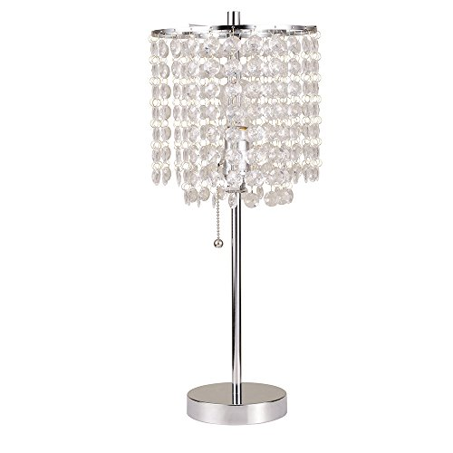 Ore International Deco Glam Table Lamp, 20.25""