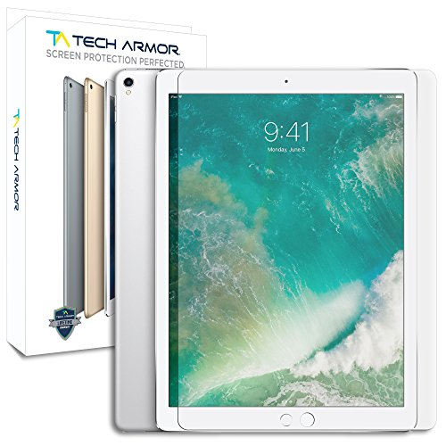 Tech Armor Ballistic Glass Screen Protector for Apple iPad Pro 12.9-inch [1-pack]