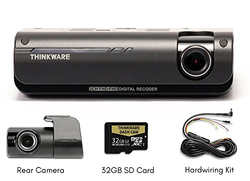 Thinkware F770 D Bundle 2-Channel Dash Camera w/ GPS, Sony CMOS sensor, 1080p Full HD | Built-in WiFi and Super Night Vision | BlackboxMyCar Exclusive Bundle, 32GB MicroSD Card Included