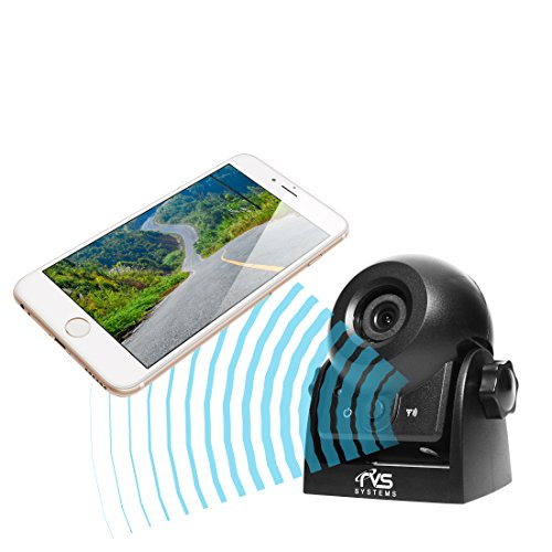 WiFi Magnetic Hitch Camera for Easy Hitching of Trailers