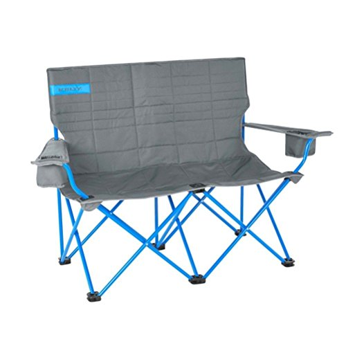 Kelty Loveseat Camp Chair - Smoke/Paradise Blue
