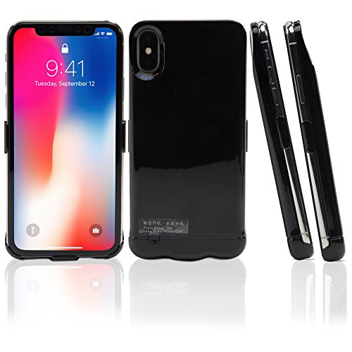iPhone X Battery, BoxWave Ultra Slim, High Capacity Battery Cover