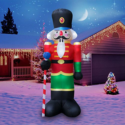Holidayana Christmas Inflatable Giant 8 Ft. Nutcracker