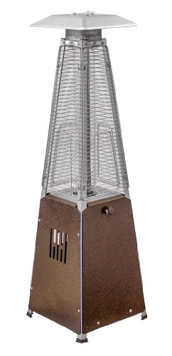 AZ Patio Heaters Portable Table Top Glass Tube Patio Heater
