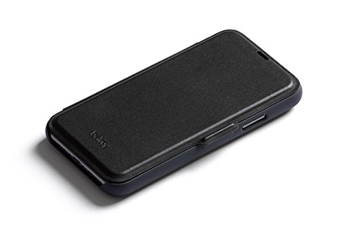 new concept 578a9 32173 Bellroy Leather iPhone X Phone Wallet - Black
