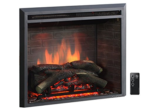 "PuraFlame 26"" Western Electric Fireplace Insert"