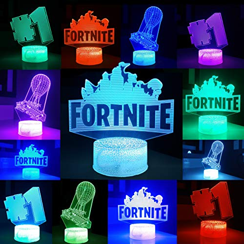 Aquaficial Night Light LED 3 in 1 Changeable USB Touch