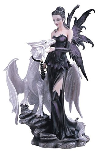 George S. Chen Imports Black Fairy with White Dragon