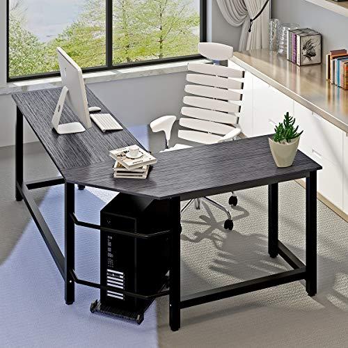 Modern Computer Desk L Shaped Corner Desk Home