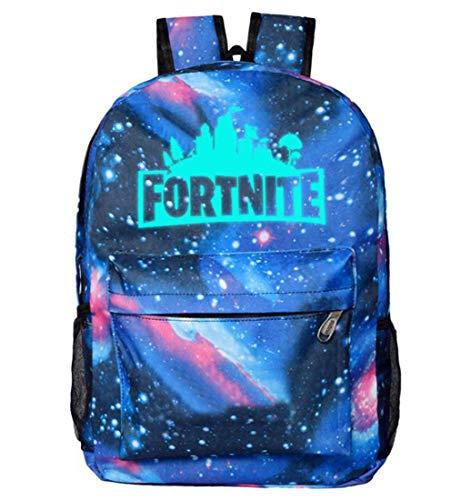 OPENDIY Fortnite School Backpack Cool Luminous Schoolbag