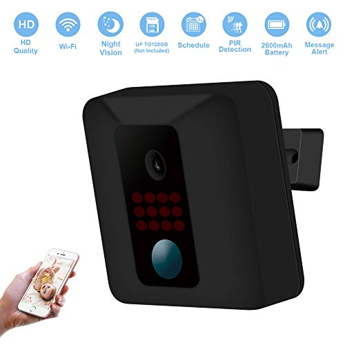 Fuvision Security Camera, Wireless IP Battery Camera Motion Detection