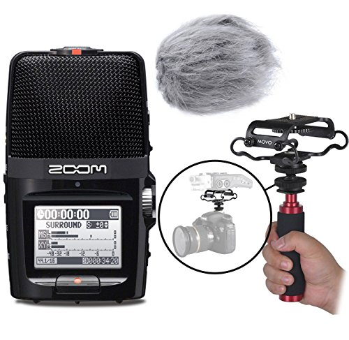 Zoom H2n Handy Portable Digital Audio Recorder Kit