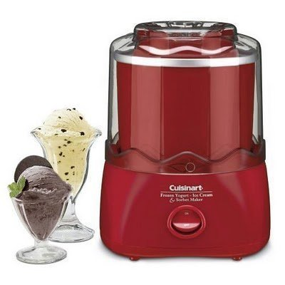 Cuisinart Frozen Dessert Maker (RED)