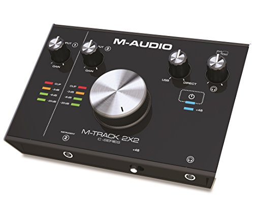 M-Audio M-Track 2X2 C-Series   2-in/2-out USB Audio Interface