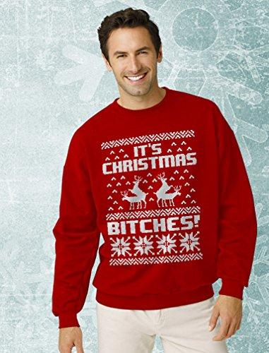 Ugly Christmas Sweater Style Sweatshirt