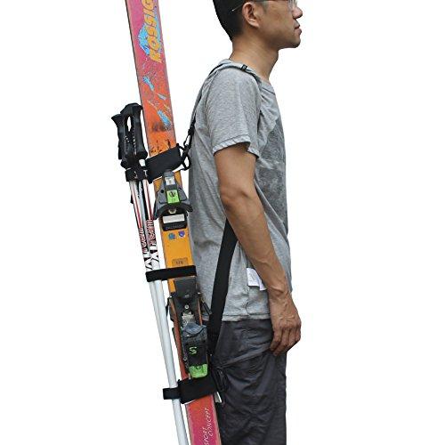 YYST ONE Picece Adjustable Ski Shoulder Carrier Ski