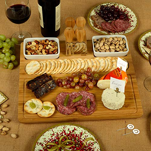 Picnic at Ascot Large Bamboo Cheese Board/Charcuterie Platter