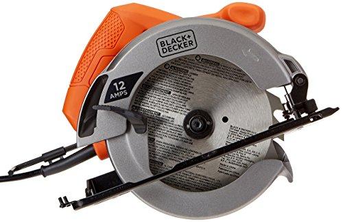 Black & Decker 12-Amp 7-1/4-Inch Circular Saw