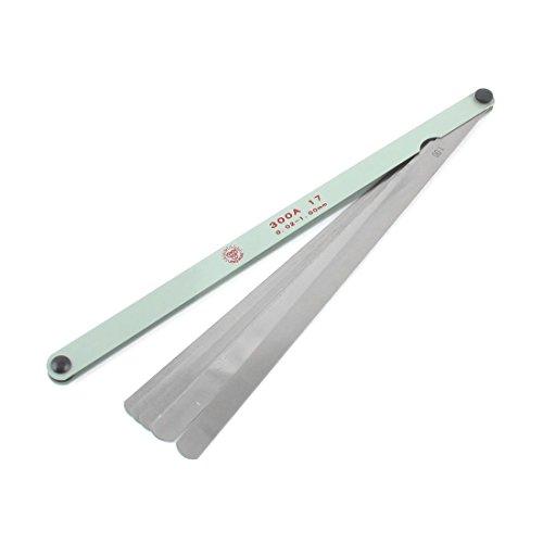 Uxcell Thick Blade Gap Metric Filler Feeler Gauge