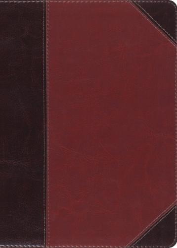 ESV MacArthur Study Bible (TruTone, Brown/Cordovan)
