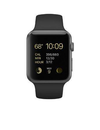 Apple Watch Sport 42mm Space Gray Aluminum Case