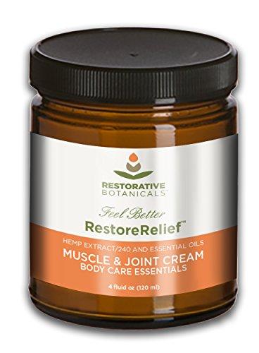 Restore Relief 240 mg Hemp Oil Extract