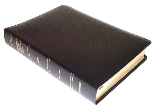 KJV - Black Bonded Leather - Regular Size