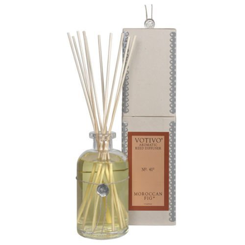 2 Pack Votivo Moroccan Fig #41 Aromatic Reed Diffusers