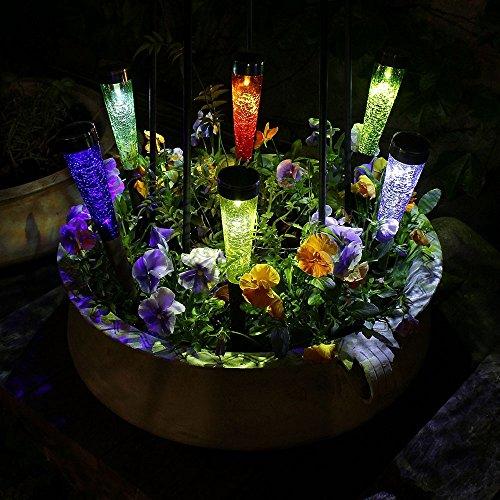 Achla Designs Solar Sparkle Cone Garden Path Lights-3 pack
