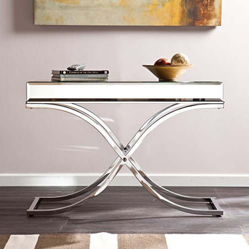 Southern Enterprises Ava Mirrored Console Table