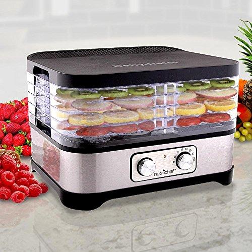 Multi Tier Food Dehydrator Machine - 250 Watt