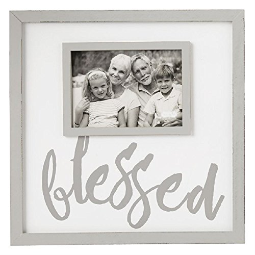 Mud Pie Blessed Frame, One Size