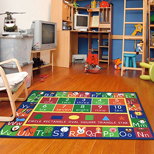 Furnish my Place Kids Rug ABC Alphabet Numbers