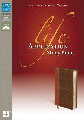 NIV, Life Application Study Bible, Leathersoft