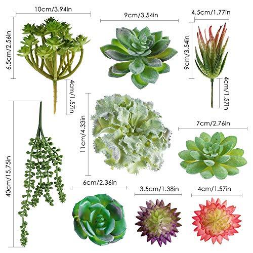 Wall of Dragon 15pcs/Set DIY Artificial Succulents Bonsai