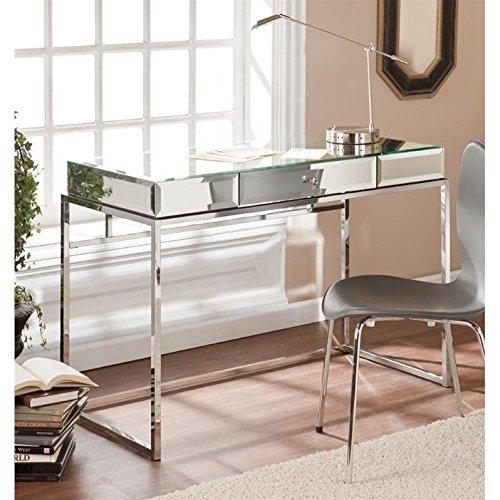 Southern Enterprises Dana Mirrored Desk