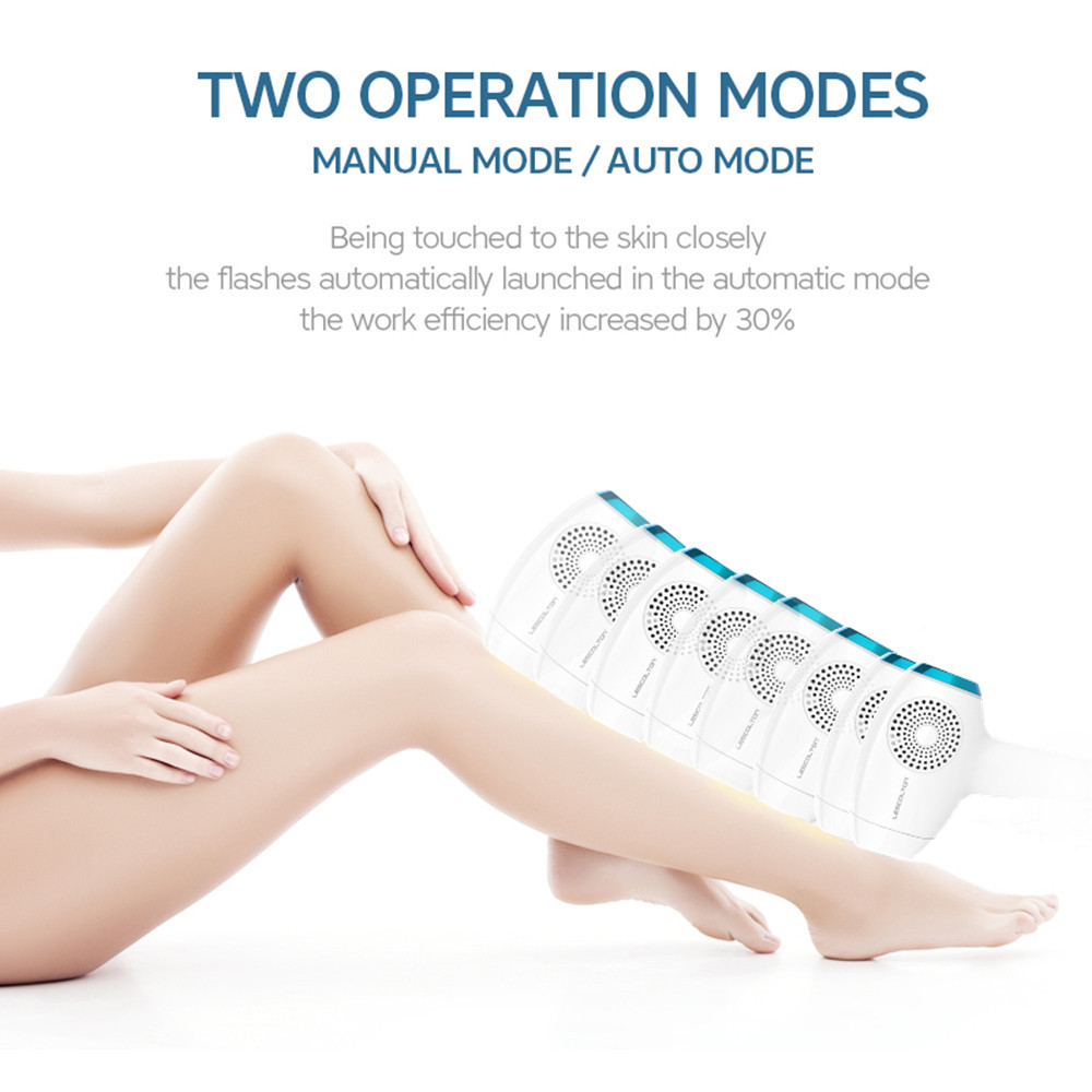 Painless Home Use Permanent Hair Removal for Women WPL ICE Cool Integrated 350,000 Flashes Touch LCD Screen laser hair removal 11