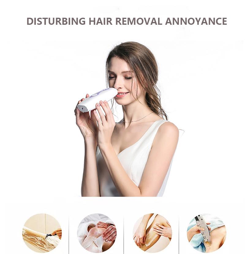 IPL Laser Hair Removal Machine Laser Epilator Hair Removal Permanent Bikini Body 500000 Pulsed Depilador 6