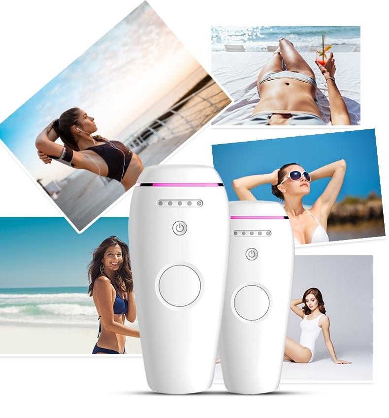 Laser Depilator Permanent Hair Removal IPL Epilator Touch Body Leg Bikini Trimmer Photoepilator For Women 1