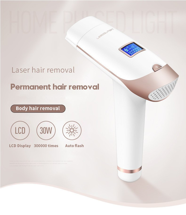3in1 700000 pulsed IPL Laser Hair Removal Device Permanent Hair Removal IPL laser Epilator Armpit Hair Removal machine 1