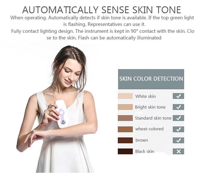 IPL Laser Hair Removal Machine Laser Epilator Hair Removal Permanent Bikini Body 500000 Pulsed Depilador 11